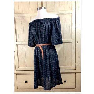 H&M L boho dress